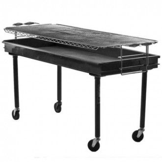 Eventsource.net 2' x 5' Charcoal Grill SALE ONLY
