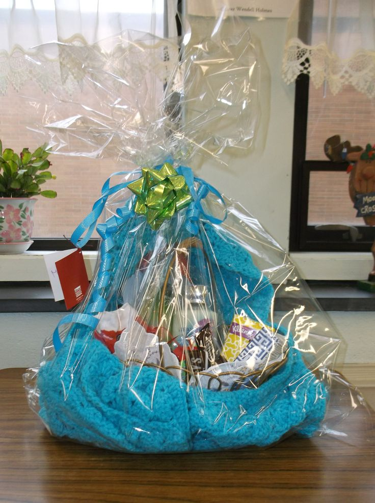 My High School Students And I Made Gift Baskets For 10