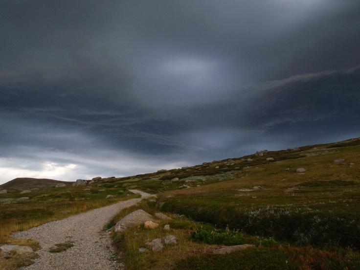 Storm clouds - Mt Kosciuszko National Park