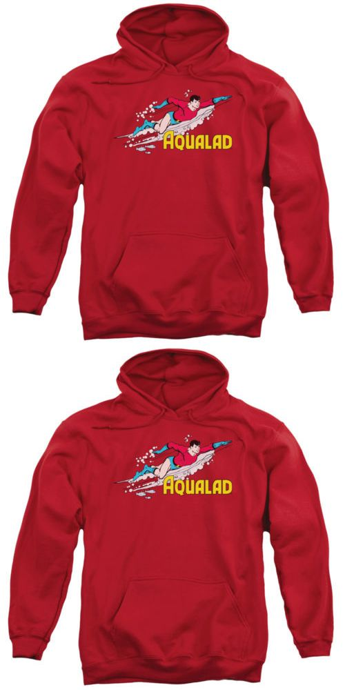 Sweatshirts and Hoodies 155200: Dc Aqualad Pullover Hoodies For Men Or Kids -> BUY IT NOW ONLY: $32.99 on eBay!