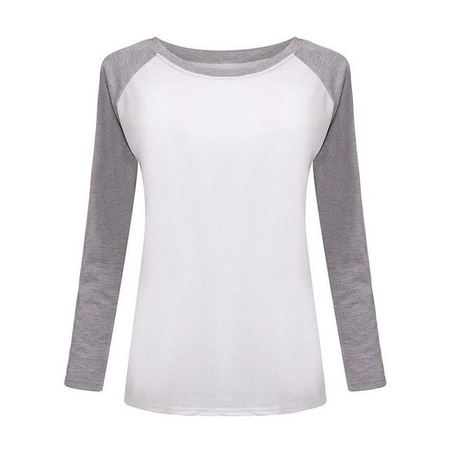 2016 Autumn Korean Pink Style Women T-shirt Sweatshirt Raglan Long Sleeve Women's Clothing Tops T-shirts For Women bts EXO