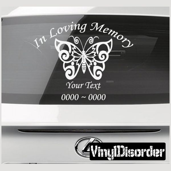 20 best ideas about in memory decals on pinterest for Custom vinyl windows online