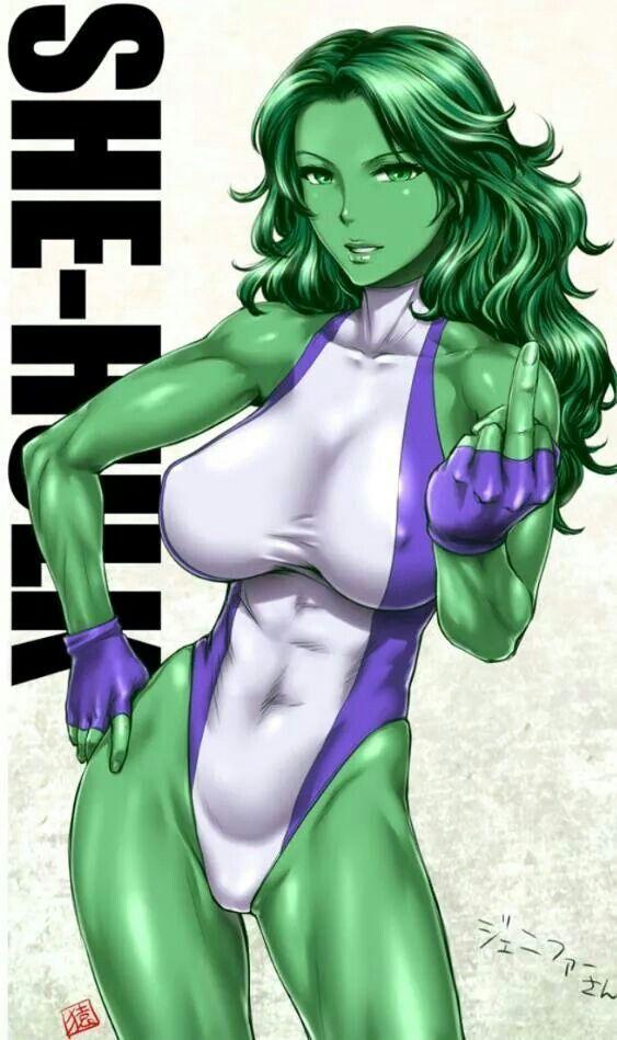 She hulk nude already