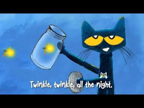 Pete the Cat: Twinkle, Twinkle, Little Star by James Dean  Sing along with Pete the Cat in his groovy adaptation of the classic children's bedtime song