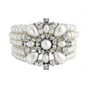 Cora Pearl Statement Bracelet