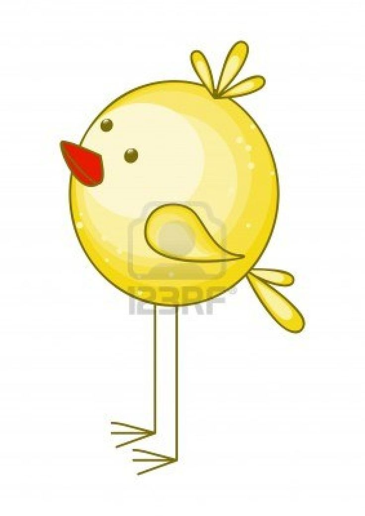 illustration of cute cartoon chicken