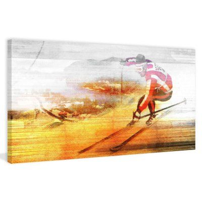 Marmont Hill Speed Print on Wrapped Canvas - MHSC-32-C-24