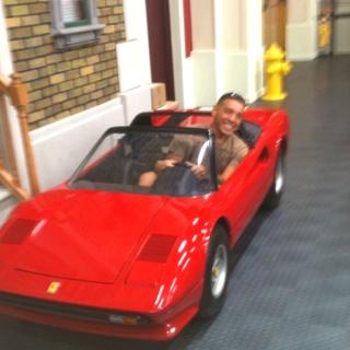 A Ferrari Go Kart