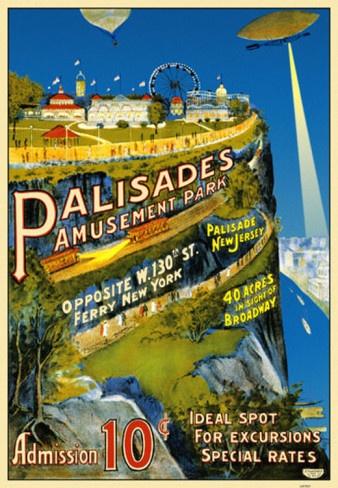 palasades amusement park | Palisades Amusement Park Masterprint at AllPosters.com