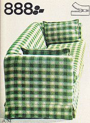 IKEA catalogue 1976 Sweden (Ankar60) Tags: green ikea vintage design sweden furniture interior swedish retro sofa fabric 70s soffa sverige 1970s catalogue checkered 1976 furnishings svensk 70tal fittings textil interir grn tyg inredning katalog mbler heminredning svenskt rutig 1970tal