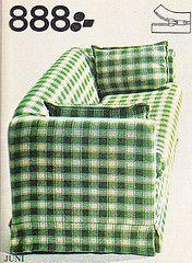 IKEA catalogue 1976 Sweden (Ankar60) Tags: green ikea vintage design sweden furniture interior swedish retro sofa fabric 70s soffa sverige 1970s catalogue checkered 1976 furnishings svensk 70tal fittings textil interir grn tyg inredning katalog mbler heminredning svenskt rutig 1970tal