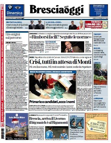 BresciaOggi (23.12.2012)