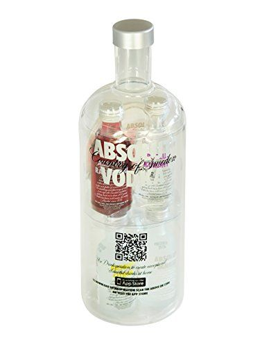 Absolut Flavoured Vodka Gift Pack, 5 x 5 cl The Absolut Naturals gift set contains the following 5cl Absolut Vodka miniatures:andlt