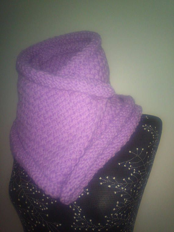 Chunky Knit Scarf.Scarf.Scarf knit for women.Knitted handmade