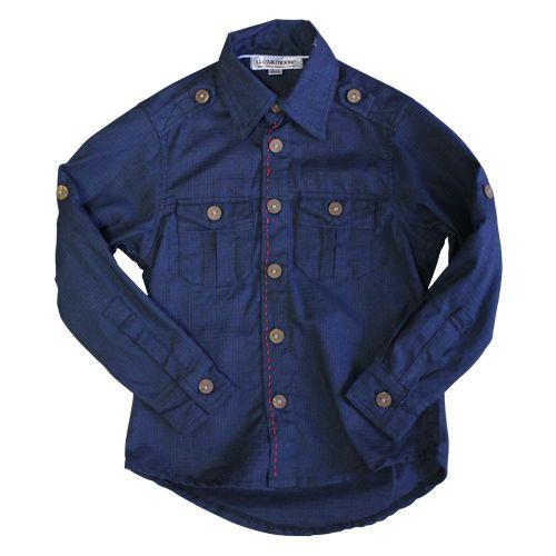 Navy casual shirt
