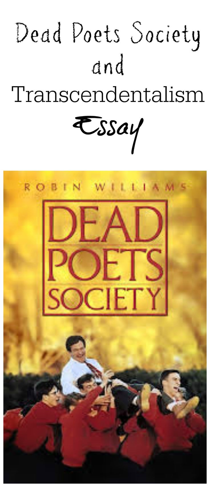 reflection of the movie dead poets society education essay The tools you need to write a quality essay or dead poets society is a poignant film it has been a long time since a movie like dead poet's society has.