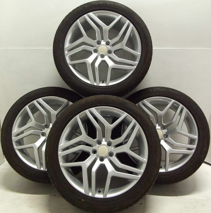 4 NEW Alloy Wheels Used Tyres 255 45 20 Land Rover #Evoque
