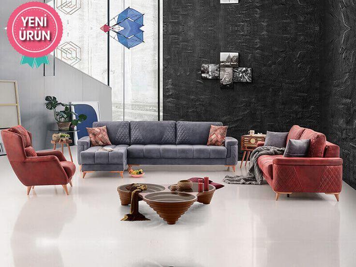 Puffy Set Modern Koltuk Takımı konforu ve zarifliği ile sizin için tasarlandı!  #Mia #Modern #Koltuk #Takımı #Sönmez #Home #Mobilya #Mekanizma
