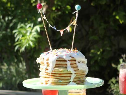 Patricia Heaton's Confetti Pancake Cake Recipe