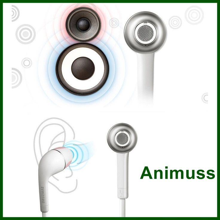 Handfree wired earphones headset earbuds with mic for iphone samsung android mobile phone