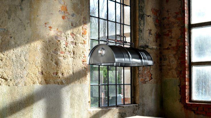 Hanging Pendant Light Lamp Suspension out 60 l Barrel Oil Industrial brushed | eBay