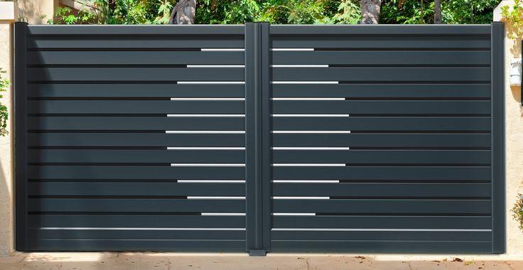 Portail Aluminium sur mesure, Vendôme Fermetures & Portails - Tad Domotique