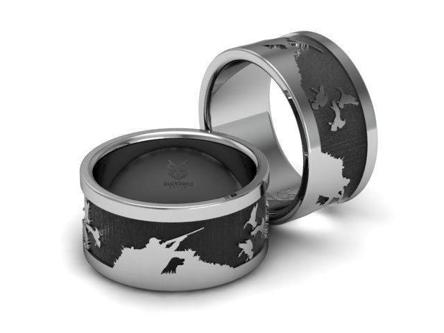 find this pin and more on duck band rings