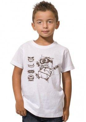 Camiseta Minion Dibujo