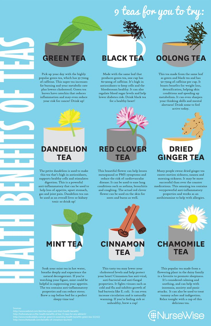Help Your Health with the Benefits of Tea - NurseWise