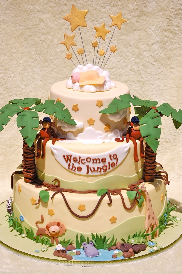 25 best ideas about safari baby shower cake on pinterest jungle safari cake safari theme. Black Bedroom Furniture Sets. Home Design Ideas