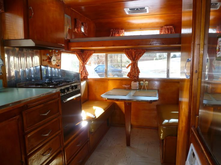 32 Best Images About Vintage Trailor Interiors On Pinterest Vintage Vintage Rv And Vintage