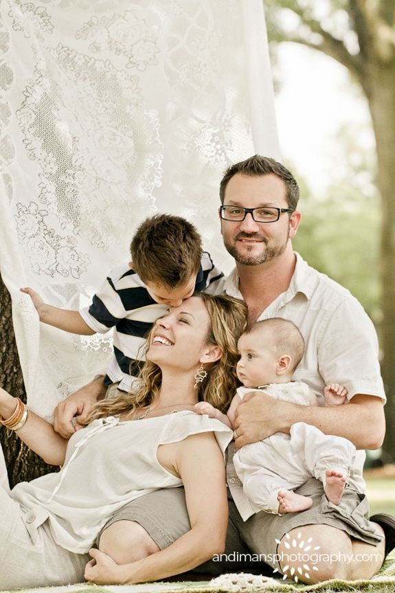 Cute Family Photography cute family of four po...