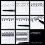 Тангл 6⃣5⃣. Сегодня у меня кружевной день!) #кружево #рисую #рисунок #творчество #зентангл #зарисовка #дневник #скетч #скетчбук #графика #vasilisinamari #vasilisinamari_art #graphic #sketchbook #sketch #stepbystep #ink #instaart #instaartist #liner #tutorial #drow #drawing #doodling #art #арт