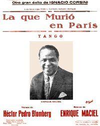 La que murió en París. Tango (1930)