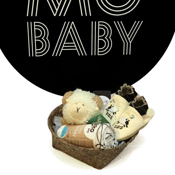 Cesta recién nacido carnerito