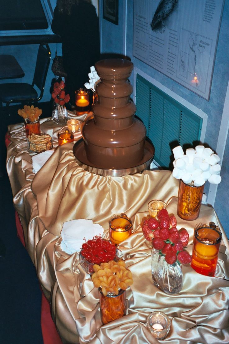 57 best Chocolate Fountain Ideas/Display images on Pinterest ...