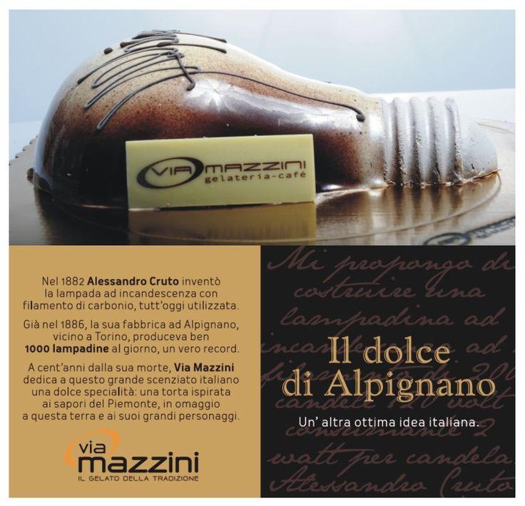 La Lampadina. Il dolce di Alpignano. Un'altra ottima idea italiana.