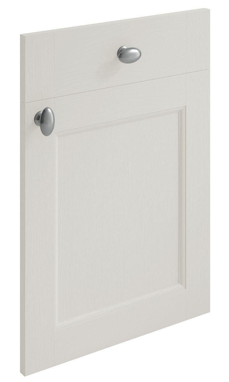 Windsor Shaker Light Grey replacement kitchen door