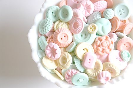 Edible buttons by Andie's Specialty Sweets on etsy
