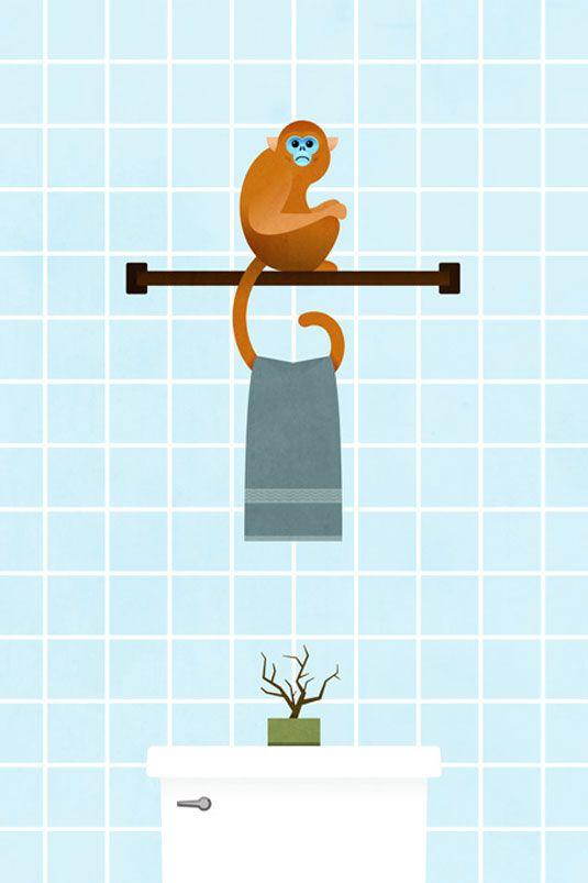 Funny Illustrations Imagine Animals As Furniture
