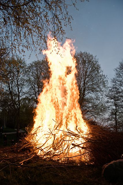 Last of April in Sweden is bonfire night!...OK now I know where I get it with the Finns and Swedes...LOL