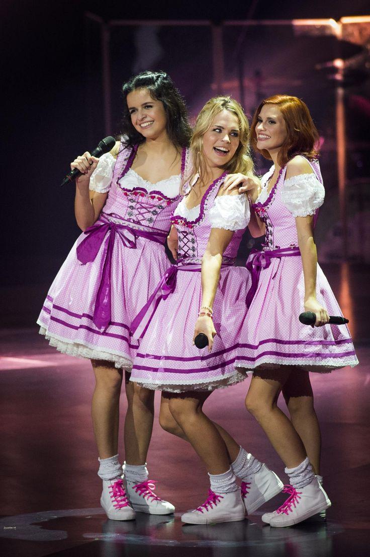 Dit zijn ze dan, de nieuwe K3! Marthe, Klaasje en Hanne.