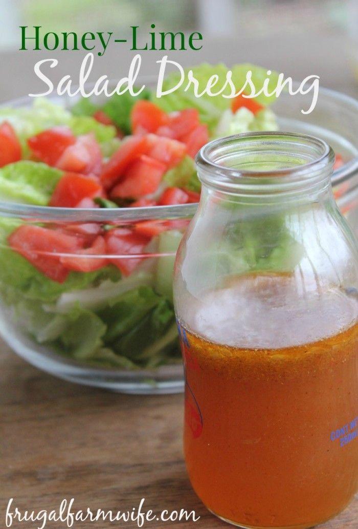 Honig-Limetten-Dressing. Ein leichtes, nahrhaftes Salatdressing mit viel Schwung …   – OGT Blogger Friends