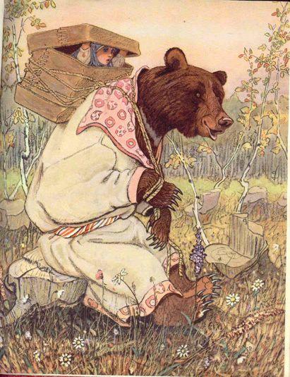 Evgenii Rachev Masha and the Bear