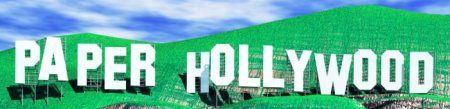 Paper Hollywood. So much geeky papercraft!