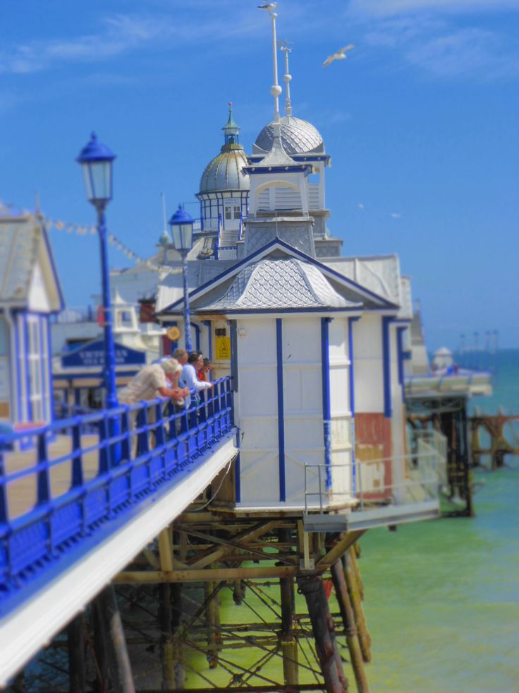 Eastbourne pier - August 2013