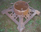 1920's Cast Iron Christmas Tree Stand