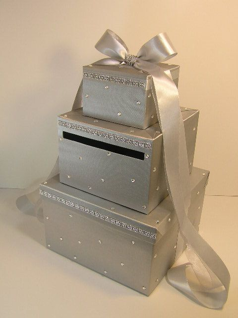 The 25 best silver weddings ideas on pinterest blue for Awesome money box