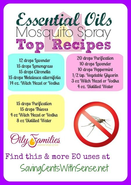 All of these recipes are so helpful during mosquito season! https://www.youngliving.com/signup/ enroller/sponsor id: 1384271  Http://www.facebook.com/younglivingeo login#1384271