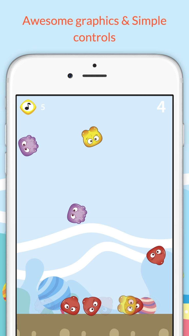 Rush the Candy Balls is very simple addictive game that let you have fun for hours!   what's exciting about this game?   • Cute Rush the Candy Balls game! • Awesome graphics • Addictive play • Simple controls • Hours of awesome gameplay